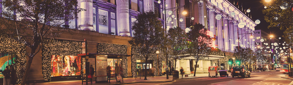 The Story of Selfridges at Christmas