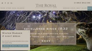 royalhoteliow.co.uk